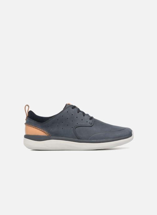 Sneakers Clarks Garratt Lace Blauw achterkant