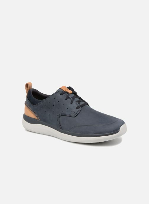 Sneaker Clarks Garratt Lace blau detaillierte ansicht/modell