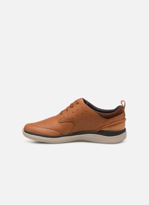 Sneakers Clarks Garratt Lace Bruin voorkant