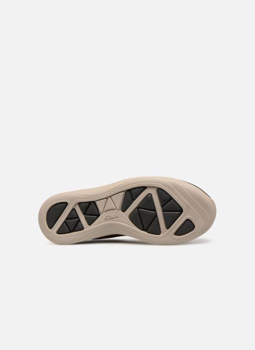 Sneakers Clarks Garratt Lace Marrone immagine dall'alto