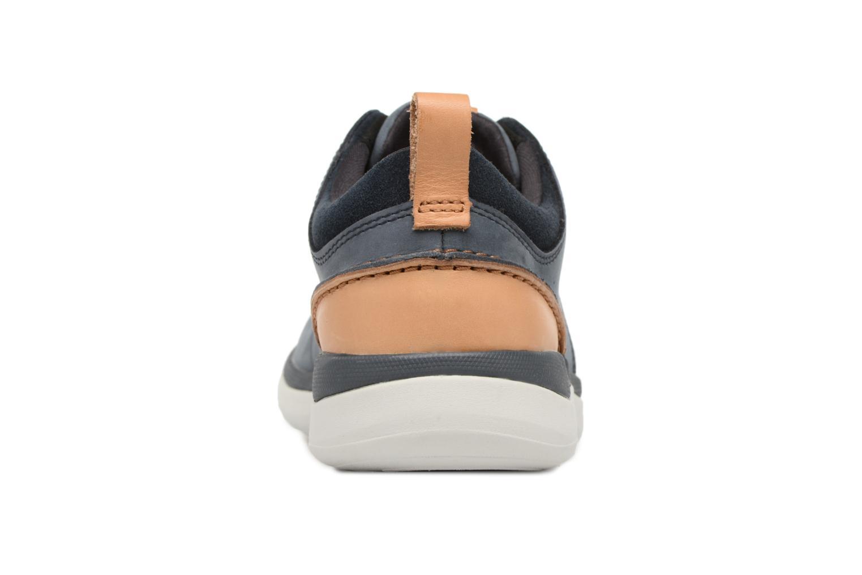 Sneakers Clarks Garratt Lace Blauw rechts