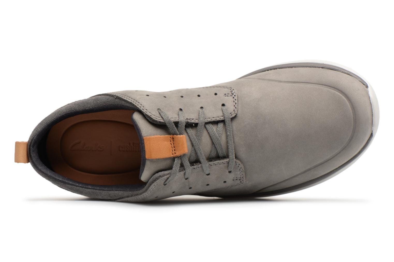 Sneakers Clarks Garratt Lace Grijs links