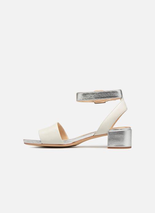 Sandales et nu-pieds Clarks Orabella Rose Blanc vue face