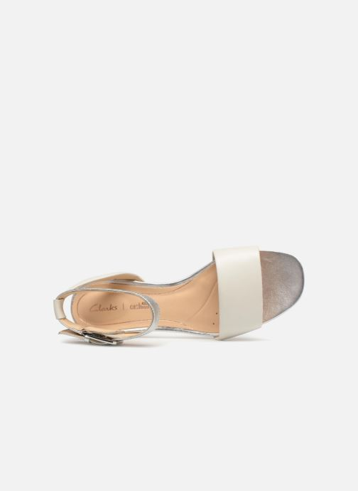 Sandales et nu-pieds Clarks Orabella Rose Blanc vue gauche