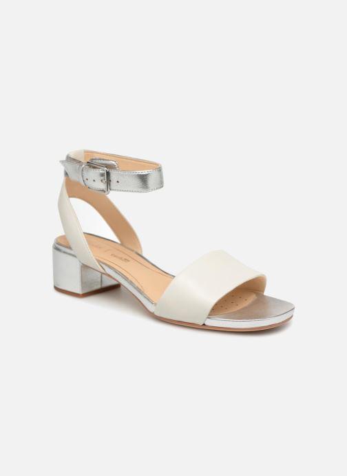 Sandales et nu-pieds Clarks Orabella Rose Blanc vue détail/paire