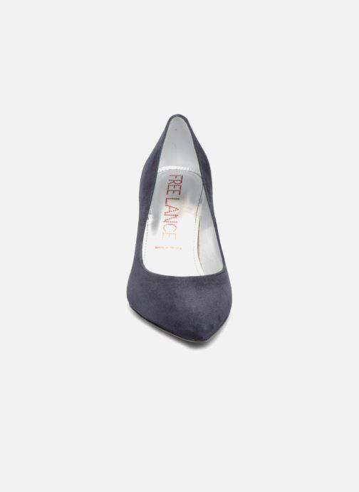 Escarpins Free Lance Forel 7 Pump Bleu vue portées chaussures