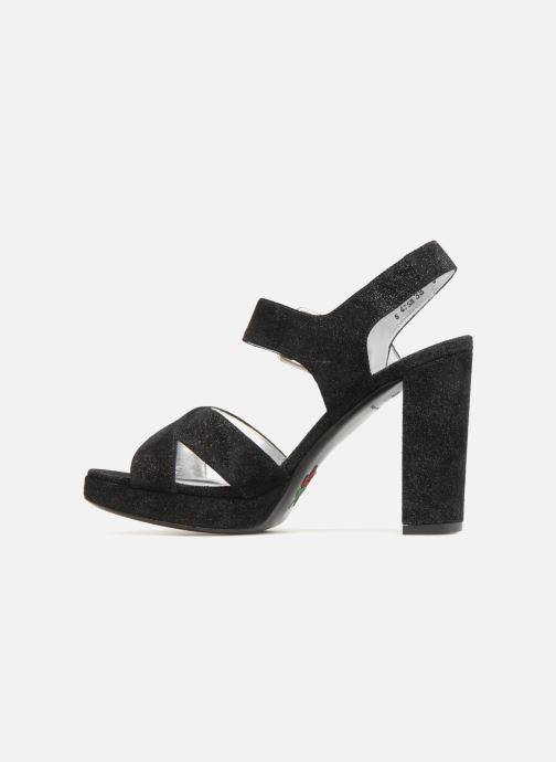 Sandales et nu-pieds Free Lance Elisa 7 Cross Sandal Noir vue face