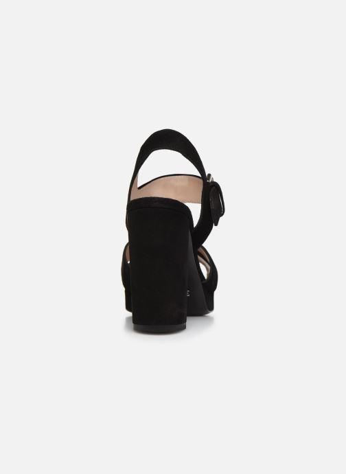 Sandales et nu-pieds Free Lance Elisa 7 Cross Sandal Noir vue droite