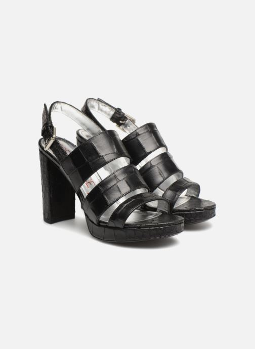 Sandales et nu-pieds Free Lance Elisa 7 Sandal Strap Noir vue 3/4