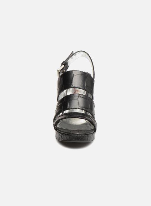 Sandales et nu-pieds Free Lance Elisa 7 Sandal Strap Noir vue portées chaussures