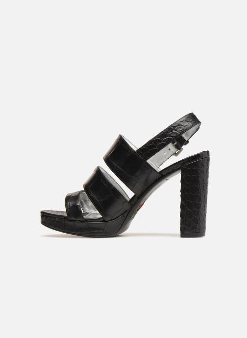 Sandales et nu-pieds Free Lance Elisa 7 Sandal Strap Noir vue face