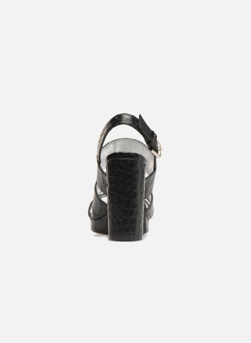 Sandales et nu-pieds Free Lance Elisa 7 Sandal Strap Noir vue droite