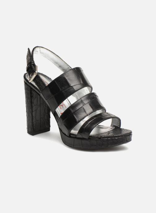 Sandales et nu-pieds Free Lance Elisa 7 Sandal Strap Noir vue détail/paire