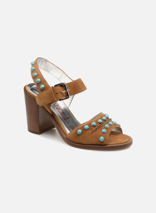 Sandales et nu-pieds Free Lance Hema 7 sandal Rivets Marron vue détail/paire