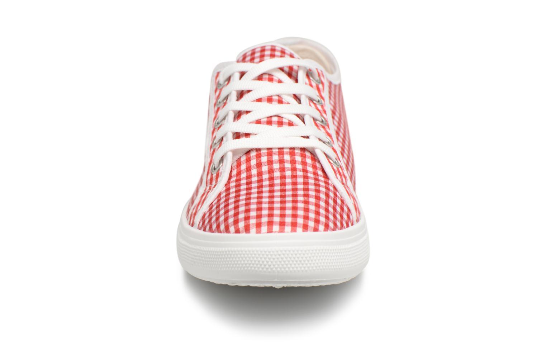 Baskets Georgia Rose Sachek Rouge vue portées chaussures