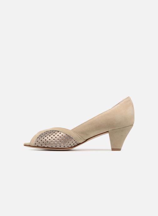 High heels Georgia Rose Lacoeur 2 Beige front view