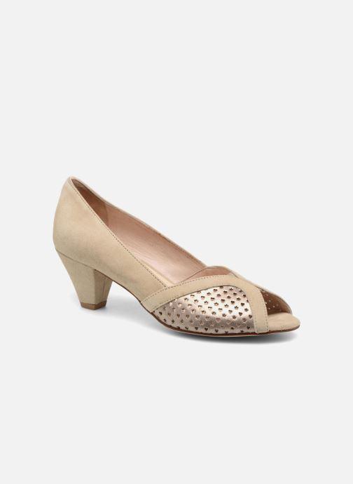 High heels Georgia Rose Lacoeur 2 Beige detailed view/ Pair view