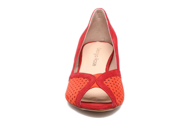 Escarpins Georgia Rose Lacoeur 2 Rouge vue portées chaussures