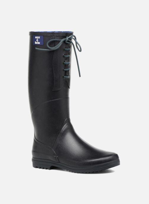 70ba6edc4f84 Støvler   gummistøvler Aigle BLUE BLUE W Blå detaljeret billede af skoene