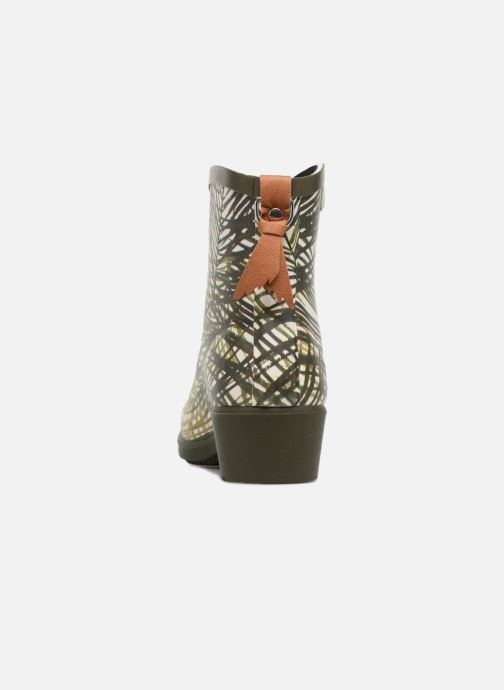 Ankle boots Aigle MIS JUL BOT PRT Multicolor view from the right