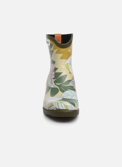 Bottines et boots Aigle MIS JUL BOT PRT Vert vue portées chaussures