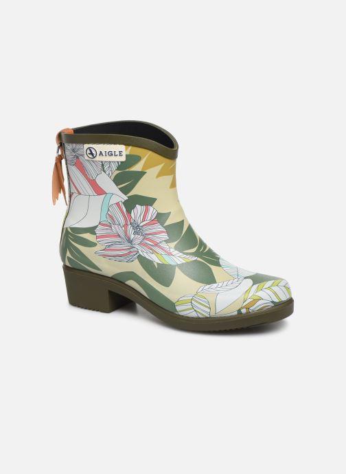 Bottines et boots Aigle MIS JUL BOT PRT Vert vue détail/paire