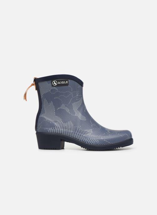 Bottines et boots Aigle MIS JUL BOT PRT Bleu vue derrière