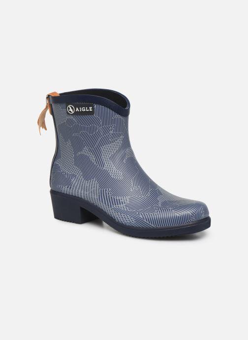 Bottines et boots Aigle MIS JUL BOT PRT Bleu vue détail/paire