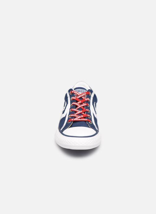 Baskets Converse Star Player EV Canvas Ox Blanc vue portées chaussures