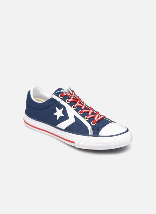 Deportivas Converse Star Player EV Canvas Ox Blanco vista de detalle / par