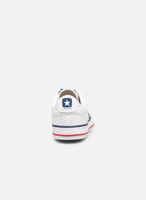 Sneakers Converse Star Player EV Canvas Ox Bianco immagine destra