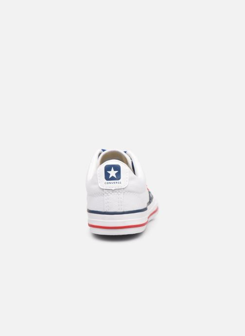Sneakers Converse Star Player EV Canvas Ox Bianco immagine destra