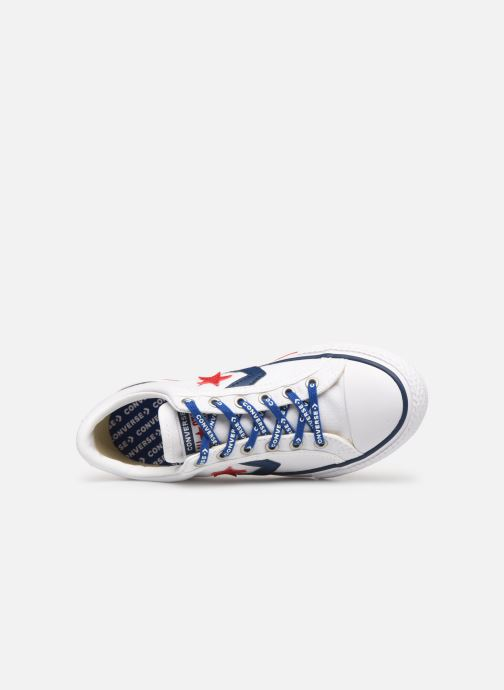 Sneakers Converse Star Player EV Canvas Ox Bianco immagine sinistra