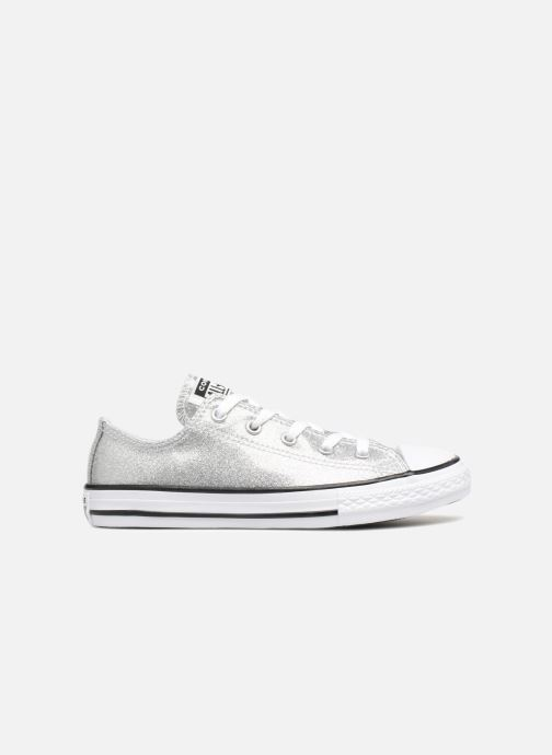 08832638514 Trainers Converse Chuck Taylor All Star Kids Sparkle Ox Silver back view
