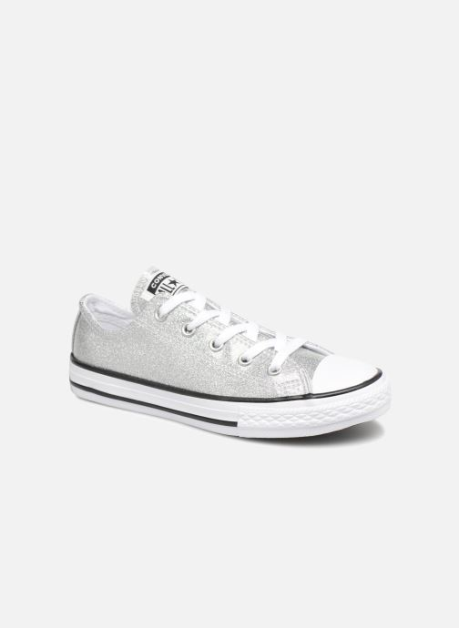 f2cd5a4ad72 Converse Chuck Taylor All Star Kids Sparkle Ox (Silver) - Trainers ...