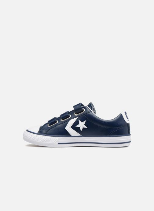 Trainers Converse Star Player EV V Back To School Ox Blue front view