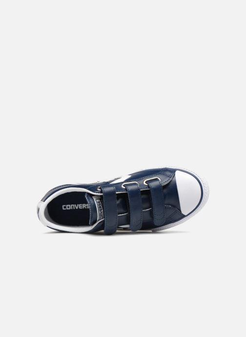 Sneaker Converse Star Player EV V Back To School Ox blau ansicht von links