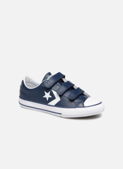 Trainers Converse Star Player EV V Back To School Ox Blue detailed view/ Pair view