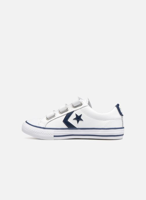 Baskets Converse Star Player EV V Back To School Ox Blanc vue face