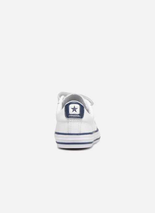 Baskets Converse Star Player EV V Back To School Ox Blanc vue droite