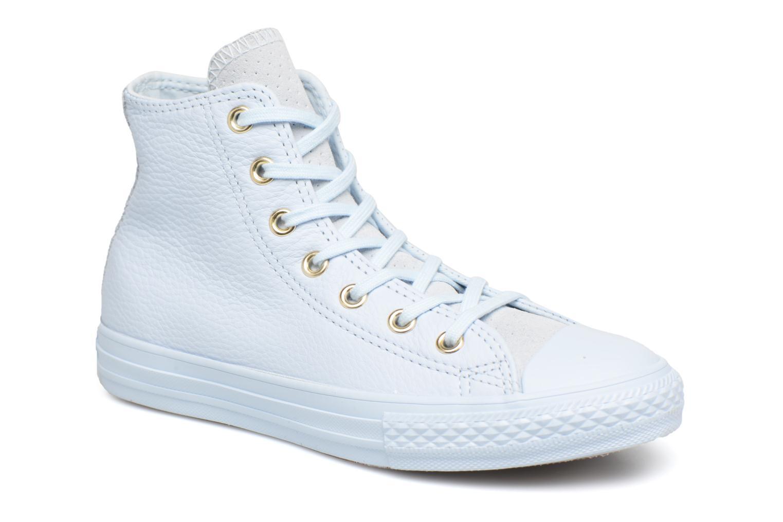 f20298f2d02490 ... ox shoes white 25846 6f4c5  sale baskets converse chuck taylor all star  bold chuck taylor womens hi blanc vue détail paire