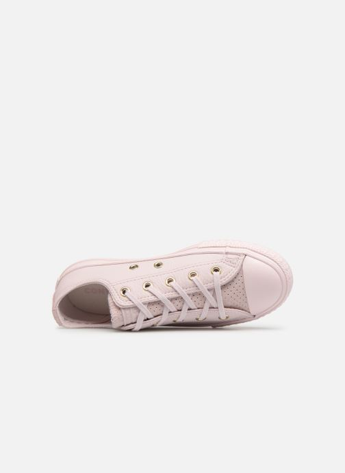 Sneakers Converse Chuck Taylor All Star Bold Chuck Taylor Womens Ox Rosa immagine sinistra