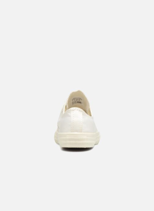 Sneakers Converse Chuck Taylor All Star Big Eyelet Satin Mono Slip Wit rechts