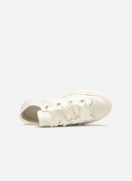 Sneakers Converse Chuck Taylor All Star Big Eyelet Satin Mono Slip Wit links