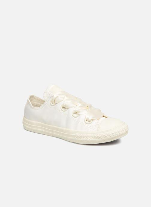 Sneakers Converse Chuck Taylor All Star Big Eyelet Satin Mono Slip Wit detail