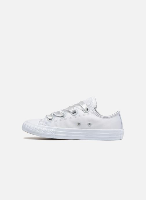 Trainers Converse Chuck Taylor All Star Big Eyelet Satin Mono Slip White front view