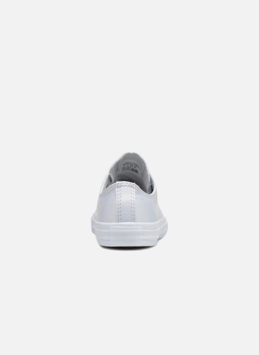 Trainers Converse Chuck Taylor All Star Big Eyelet Satin Mono Slip White view from the right