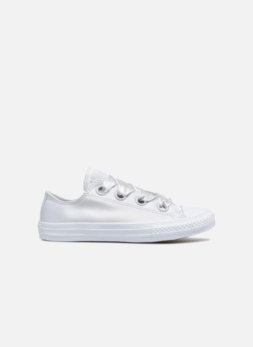 Trainers Converse Chuck Taylor All Star Big Eyelet Satin Mono Slip White back view