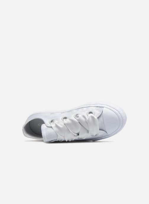 Trainers Converse Chuck Taylor All Star Big Eyelet Satin Mono Slip White view from the left