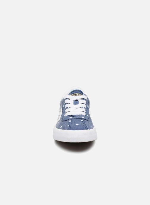 Trainers Converse Breakpoint Girls Polka Dot Ox Blue model view